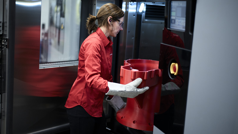 The benefits of large-format industrial 3D printing